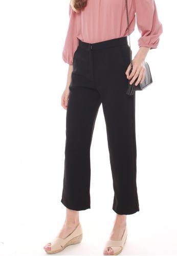 JOVET black Tailored Pants 5C9E8AA796FB56GS_1