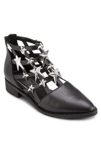 Nelly 星星鏤空踝靴, 韓系時尚, esprit 西裝梳妝