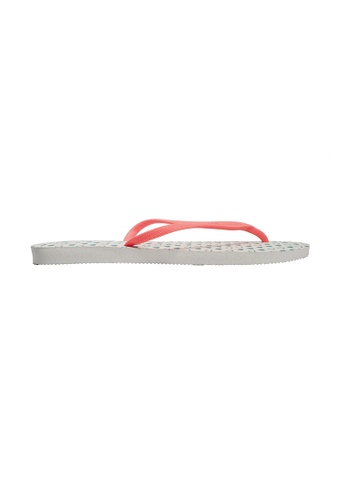 Dupe white and pink Dupé CLASSIC White/Coral Flip Flops DU634SH73LYCHK_1