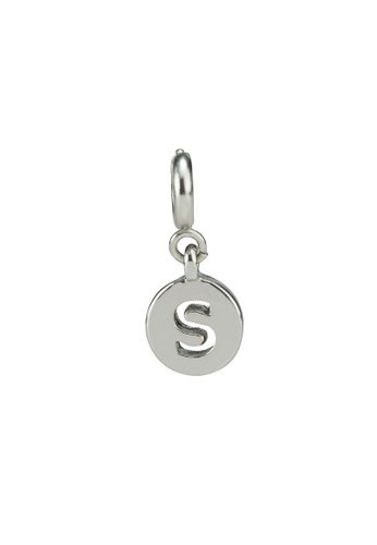 My Flash Trash silver Silver letter charm s 7C2B0ACEE43F25GS_1