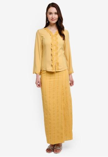 Soonaru yellow Safiya Kebaya 684D2AA57E77A9GS_1