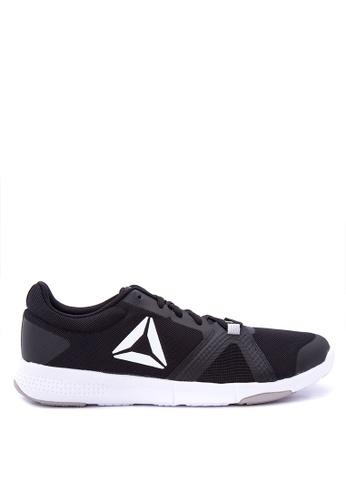 Reebok black and grey and white Reebok Trainflex Lite Training Shoes RE600SH0J2J0PH_1