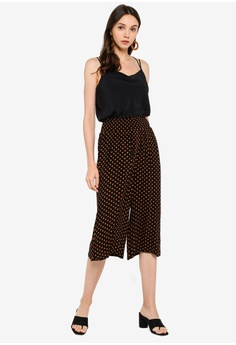 3a604a63a9 10% OFF Dorothy Perkins Petite Ginger Spot Crinkle Culotte HK$ 260.00 NOW  HK$ 233.90 Sizes S M L