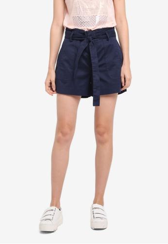 ESPRIT navy Woven Shorts BEFADAADBD97EDGS_1