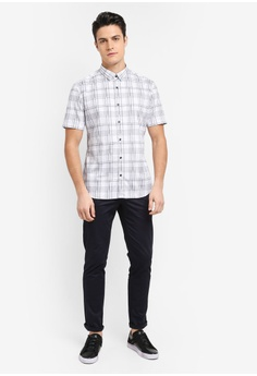 a584a41f7ade0 51% OFF G2000 Irregular Check Print Short Sleeve Shirt S$ 59.00 NOW S$  29.00 Sizes 1 2 3 6