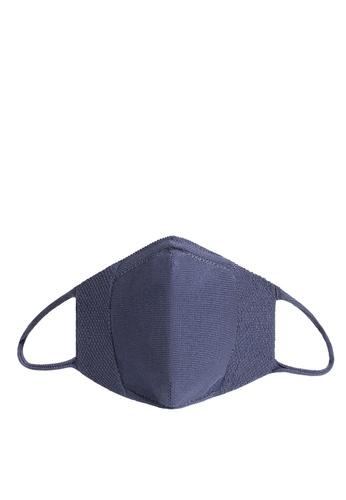 Mango blue Reusable Homologated Knit Facemask 1E153ES226F4B7GS_1