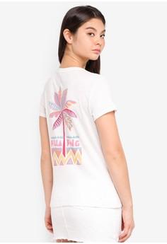 Palm Tree Tribal Short Sleeve T-Shirt