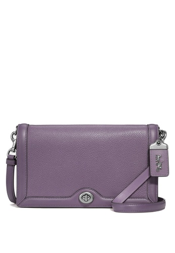 Coach purple Riley Crossbody Bag (cv) 86301AC053E5FDGS_1