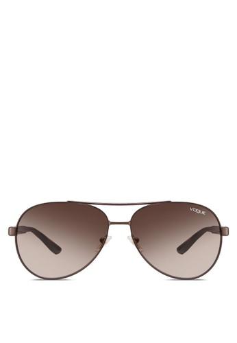 雕花飛行員太陽眼鏡, 飾esprit 尺寸品配件, 飾品配件