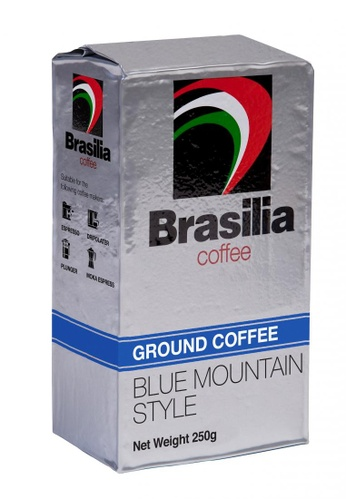 Livebetterasia Singapore Brasilia Coffee Ground Brick Pack Blue Mountain 250g F2683ESFCCD3C6GS_1