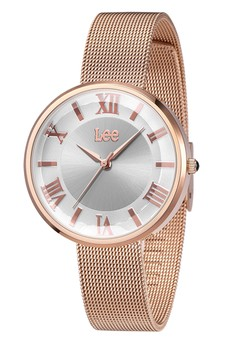 Lee Watch F98DRDR-8R Jam Tangan Wanita Lee Metropolitan Lady Rosegold