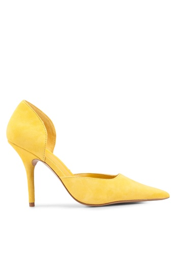40e1a1759 Buy Mango Heel Leather Shoes Online | ZALORA Malaysia