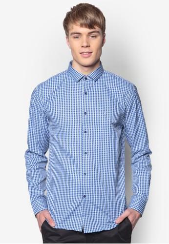 貼esprit hk store身長袖襯衫, 服飾, 印花襯衫