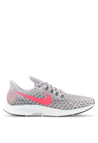 720f141d78cc5 Nike grey and pink Nike Air Zoom Pegasus 35 Running Shoes 8E41DSHF62AA3AGS 1