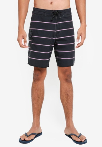 Billabong black Sundays X Cali Shorts EC313AA940A175GS_1