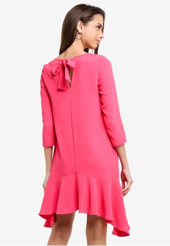 River Island pink Frankie Kat Swing Dress 3F2D9AAC106F9FGS_1