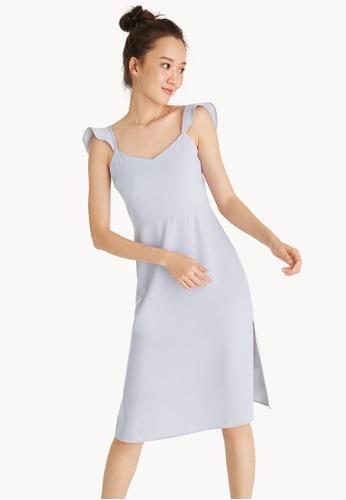 bd9b6d8d385dc Buy Pomelo Ruffle Strap Sleeveless Dress Online on ZALORA Singapore