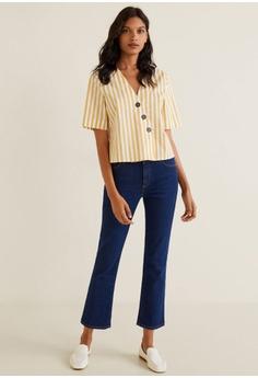 2657e294a9 30% OFF Mango Buttoned Cotton Shirt S  55.90 NOW S  38.90 Sizes M L