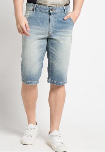DocDenim blue Men Short Jeans Lidium 64289AAC750A74GS_1