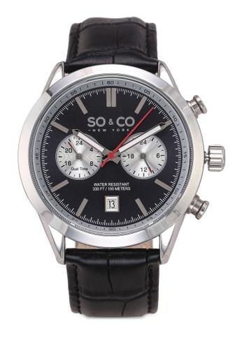 SO&CO silver Monticello Watch 5056 1EA7CAC8431669GS_1