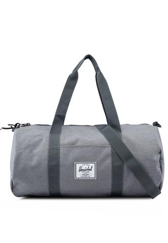 Herschel grey Sutton Mid Volume Duffel Bag 13618ACE43BAB5GS_1