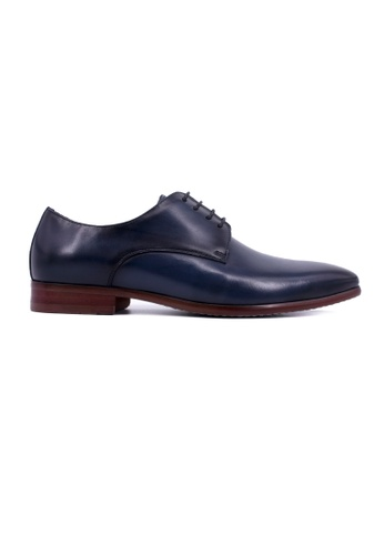 Rad Russel blue Rad Russel Lace Up Derby-Navy RA654SH0GHM2SG_1
