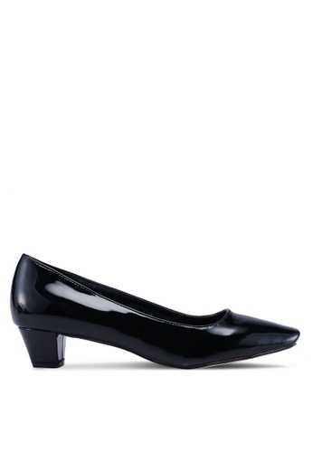 ed52270fc15 Shop Nose Square Toe Low Heel Pumps Online on ZALORA Philippines