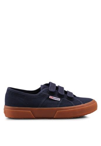 Superga navy Cot3Strapu Sneakers 0DD07SH56D61F0GS_1