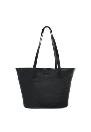 SEMBONIA blue SEMBONIA Genuine Leather Tote Bag (Dark Blue) SE598AC0RJYWMY_1