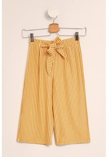 DeFacto yellow Girl Knitted Trouser 7D705KA704D4B9GS_1
