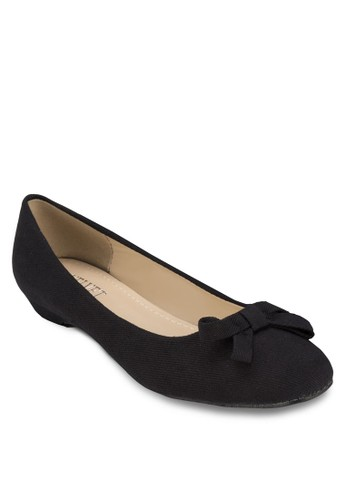 Kaylene 蝴zalora 鞋評價蝶結平底鞋, 女鞋, 芭蕾平底鞋