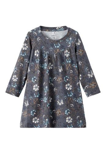 NAME IT grey Nellal Long Sleeves Dress 4C500KAC968C13GS_1