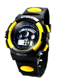 Bryan Unisex Silicone Strap Sports Watch XT-95