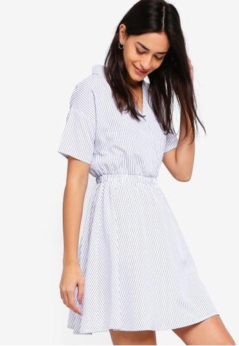ZALORA white Shirt Dress D222AAA76DD207GS_1