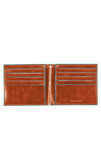 Piquadro orange Men's Wallet With Money Clip PI261AC70WLLPH_1
