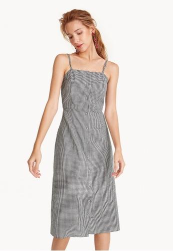 76b31d48a83 Buy Pomelo Gingham Cami Strap Dress Online on ZALORA Singapore