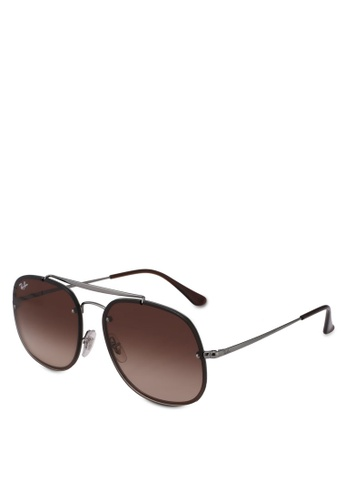 Ray-Ban 灰色 RB3583N Sunglasses 41CE3GL92B48B5GS_1
