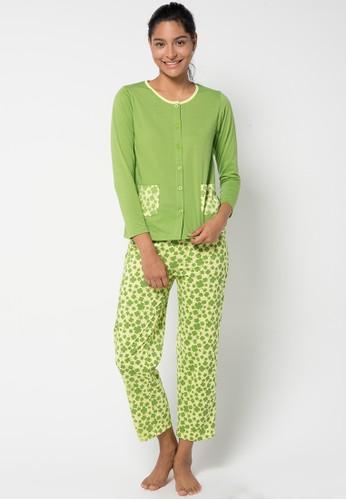 Puppy green Nita Sleepwear PU643AA26KBTID_1
