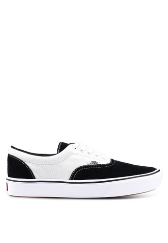 VANS black and white ComfyCush Era Suede/Canvas Sneakers 931E5SH7467362GS_1