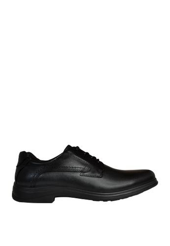 Hush Puppies black Delta Casual Shoes HU326SH0KTINPH_1