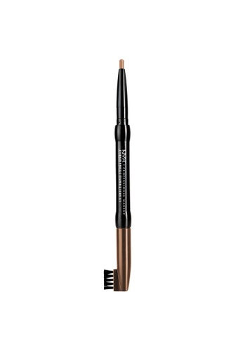 NYX Professional Makeup brown NYX Professional Makeup Auto Eyebrow Pencil  - LIGHT BROWN D2352BE21678ABGS_1