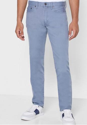 Gap blue Slim Jeans with GapFlex 2C760AA89D27DAGS_1