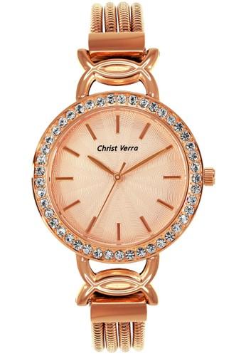 Christ Verra gold Fashion Women's Watches CV 71021L-15 RG 64D30AC21F2F7DGS_1