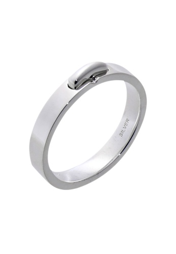 The LoveMark silver Buckle Ring for Men lr0011m TH516AC99UZSPH_1