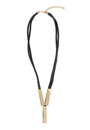鑄塊吊墜項鍊, zalora時尚購物網評價飾品配件, 飾品配件