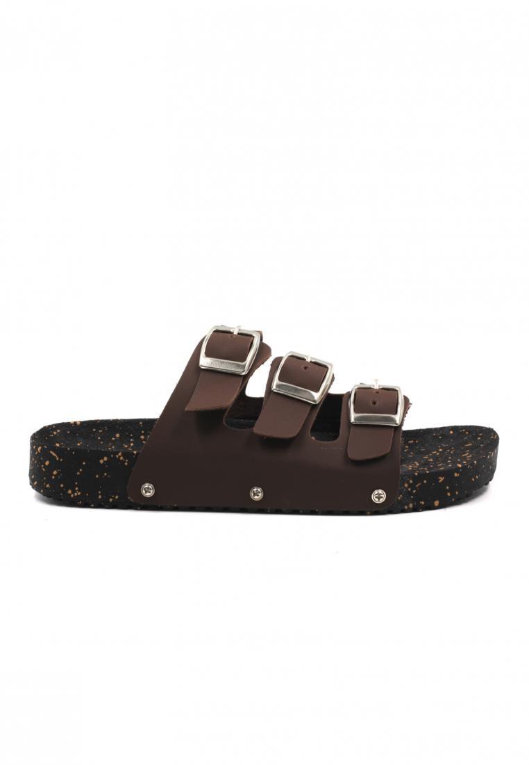 Cassidy 3 Straps Flat Sandals