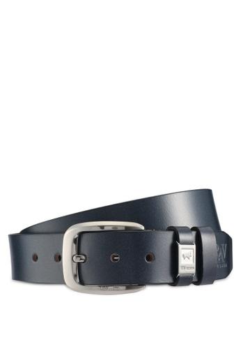 RAV Design black 40mm Leather Belt 5FBC2AC08E777FGS_1