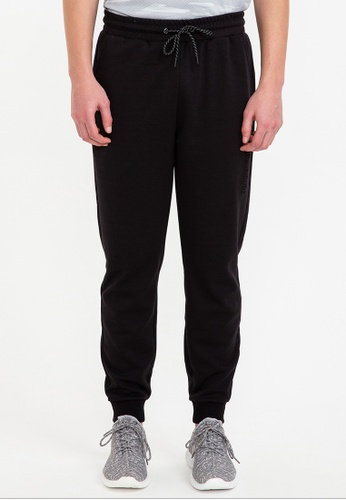 Bossini black Air Tech - Tapered Fit Solid Pants 27954AA29A339BGS_1