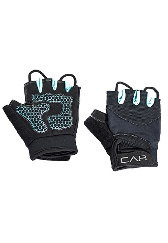 CAP Barbell black and blue CAP Barbell Tacky Weightlifting Gloves, M/L 13A0ASE60BF08DGS_1