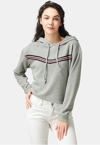 London Rag grey Hoodie With Drawstring 2D516AA8B7533CGS_1